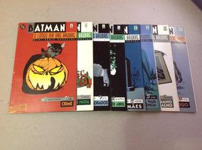 Batman O Longo Dia Das Bruxas Mini-série Completa 8 Edições