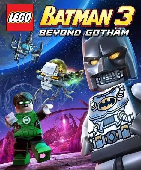 Lego Batman 3 Ps3 Alem De Gotham Dublado Portugues Brasil