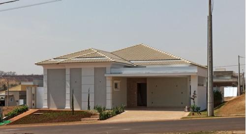 Casa Térrea Com 230 M² De Área Construída Em Um Terreno De 389,93 M², No Condomínio Villa De San Paolo, Na Cidade De Bonfim Paulista - Ca00448 - 68514214