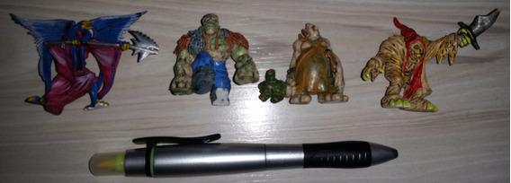 4 Bonecos Monster In My Pocket Da Meg De 2006