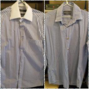 2 Camisas Sociais Mangas Longas