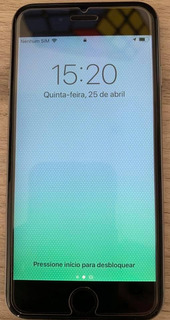 iPhone 6s 128gb Cinza Na Caixa Sem Carregador