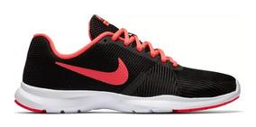 Tenis Nike Mujer Negro-rojo Intenso ¡oferta!