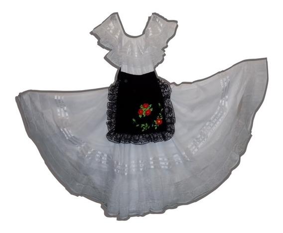 Vestido/vestuario Típico De Veracruz