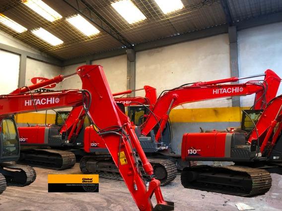 Retro Excavadora Hitachi Zx 130 Lcn