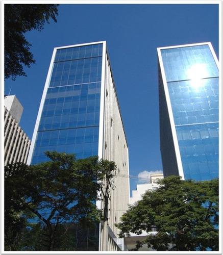 Sala Comercial Para Locação, Jardim Paulista, São Paulo. - Sa0490