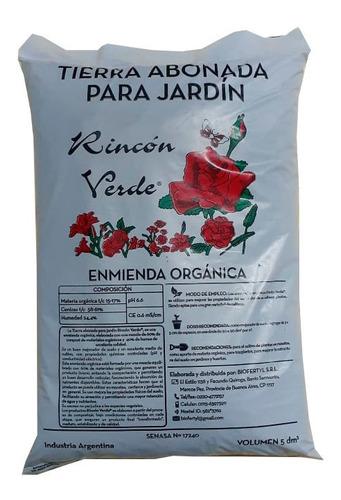 Tierra Abonada Para Jardin Humus 5dm3 Rincon Verde Biofertyl