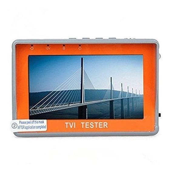Testador Monitor Pulso Tela 4.3 P/ Cameras Ahd E Analogica