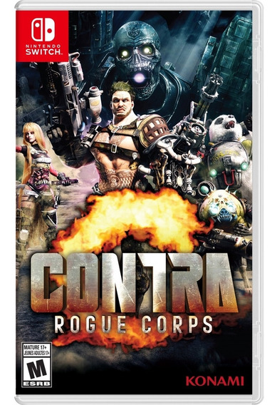 Contra Rogue Corps Switch Mídia Física Novo Lacrado Original