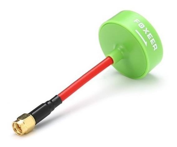Antena Foxeer Trevo Cogumelo Vermelha 5.8g 3dbi 61mm