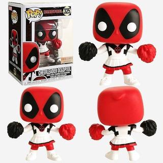 Funko Pop Marvel Deadpool Cheerleader Porrista Boxlunch Excl
