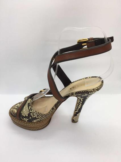 Zapatos De Plataforma Prada No Son Burr Usados Impecables
