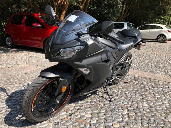 Kawasaki Ninja 300 Verde