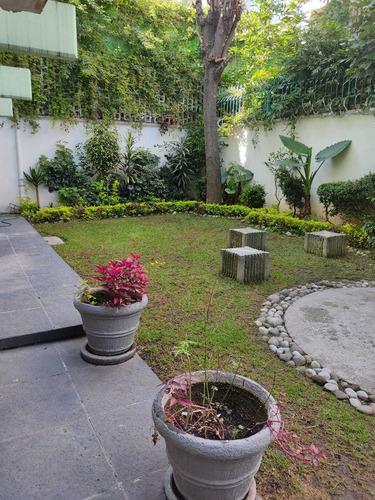 Imagen 1 de 14 de Excelente Oficina Planta Baja Con Jardin En Polanco 240m2