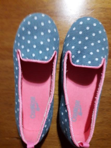Zapatos De Niña Oshkosh Nuevos
