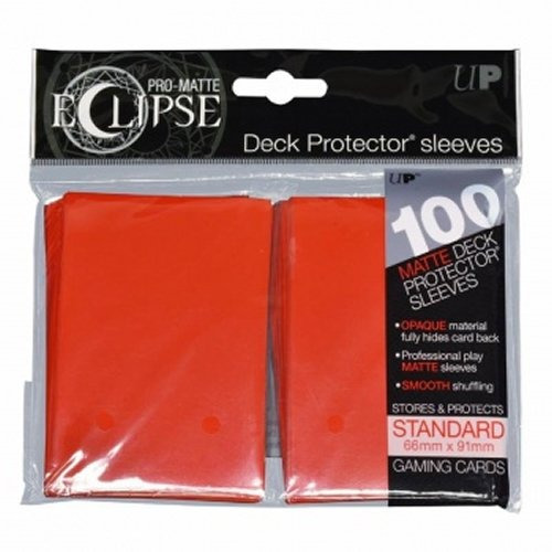 Imagen 1 de 1 de Mangas Deck Protector Pro-mate Eclipse Estándar Red Apple (1