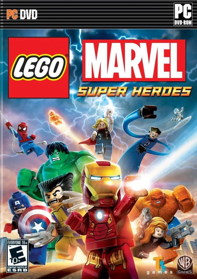 Lego Marvel Super Heroes ( Mídia Física ) Pc - Frete Gratis