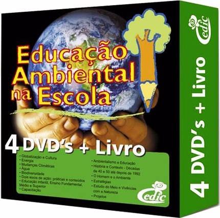 Coleção Educação Ambiental Na Escola 4 Dvd