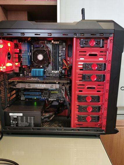 Pc Gamer Processador Amd Fx 6300Placa Mãe M5a97 Evo16gb Dd