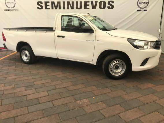 Toyota Hilux Cabina Sencilla Manual 2018.