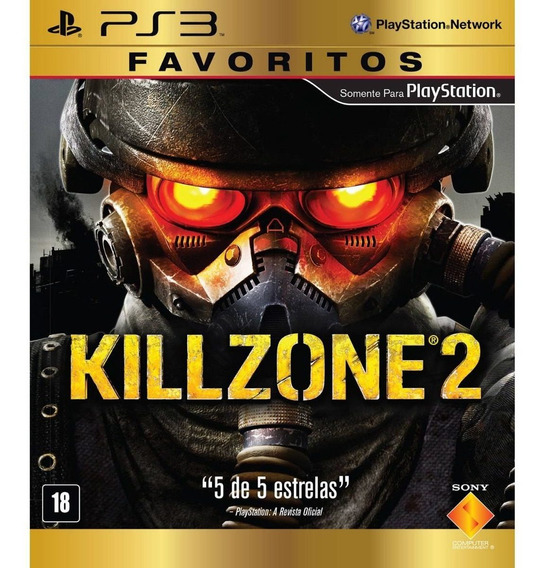 Killzone 2 - Favoritos - Ps3 Mídia Física Lacrado