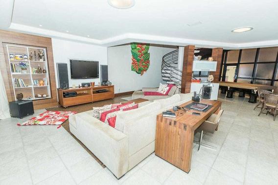 Casa Com 4 Quartos, Sendo 2 Suítes Na Mata Da Praia - 2427