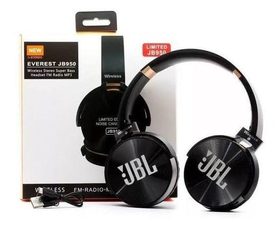 Headphone Wireless Jbl Bluetooth Sem Fio Cartão Sd