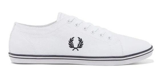 Tênis Fred Perry Masculino Kingston Twill Branco