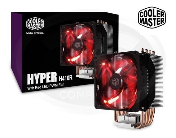 Hyper H410r Cooler Master Led Cpu Cooler