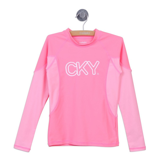 Polera Playa Playa Fucsia Girl Colloky