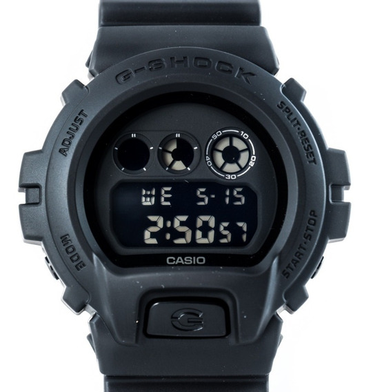 Relógio G-shock Dw-6900bb All Black Preto Militar Original