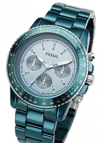 Relógio Fossil Feminino Azul Metálico Modelo Ch2711