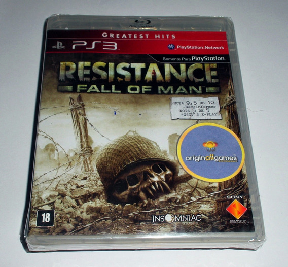 Resistance: Fall Of Man ¦ Jogo Ps3 Original Lac ¦ M Física