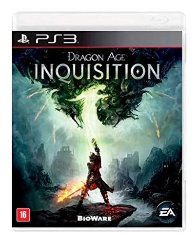 Imagem 1 de 2 de Jogo Usado Dragon Age Inquisition - Ps3 Mídia Física