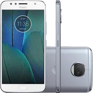 Motorola G5s Plus 32gb Azul/topázio Seminovo Bom