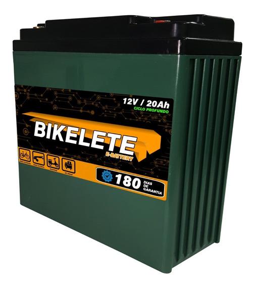 Bateria De Bicicleta Eletrica 12v/20ah Ciclo Profundo