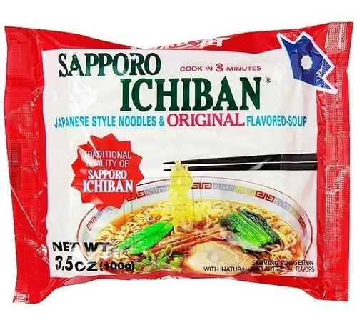 Imagen 1 de 1 de Sapporo Ichiban , Sopa Instantánea De Fideo, 100 G