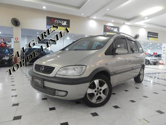 Chevrolet Zafira 2.0 Cd 8v Automática Top De Linha 7 Lugares