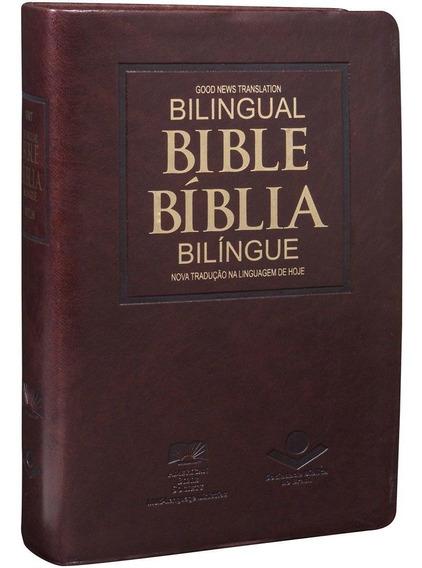 Bíblia Em Inglês - Português Na Linguagem De Hoje | Sbb