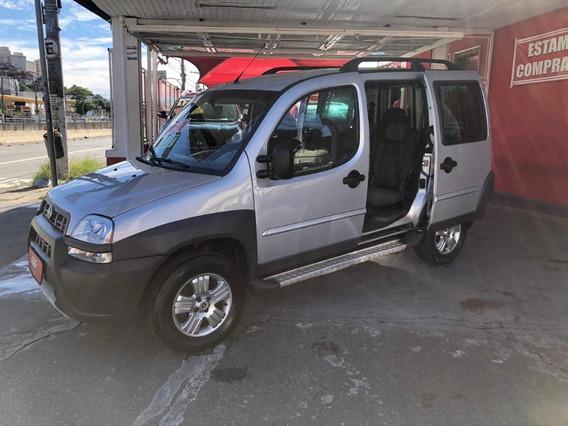 Fiat Doblo 2007 Adv 1.8 Flex Prata 6 Lugares