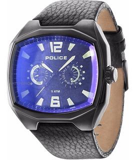 Police 14191jsb-02 Fairplay Para Hombre Con Correa En Cuero