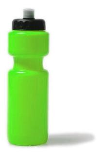 Botella Deportiva Plástica 400ml Fitness Entrena Agua Regalo
