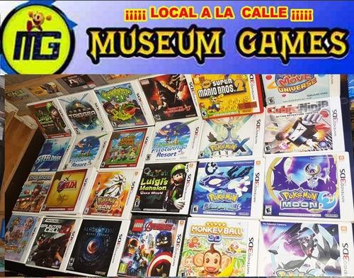Juegos Nintendo 3ds Americanos En Stock Local Mg C/u