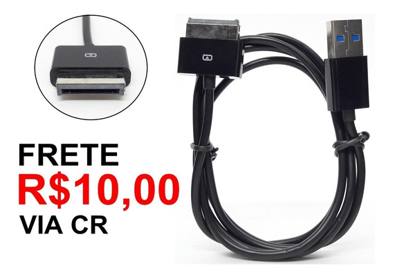 Kit 2 Cabos Usb Para Tablet Asus Tf101 Tf201 Tf300