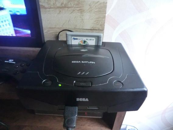 Sega Saturn Lendo De Primeira ( Fab Taiwan Modelo Travado)