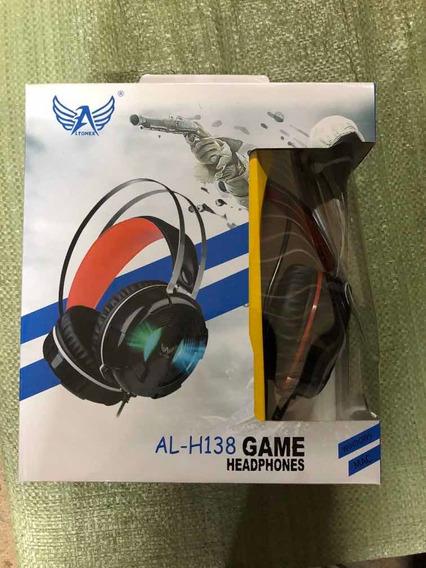 Fone De Ouvido Com Microfone Headphones, Para Games
