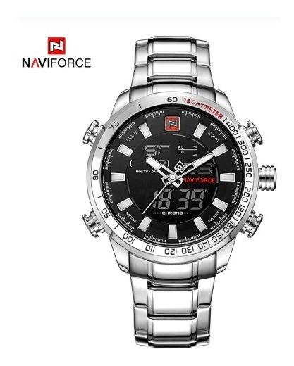 Relógio Masculino Naviforce Militar Original Pronta Entrega