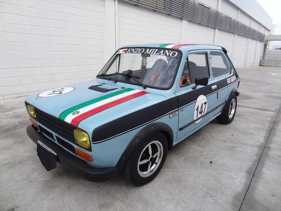 Fiat 147 Azul 1978 Abarth Competição