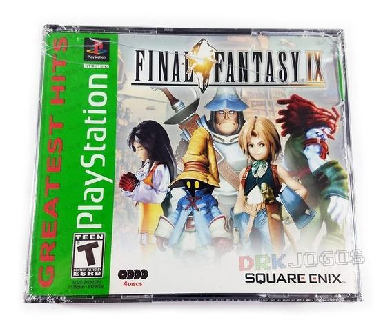Final Fantasy 9 Ix Original Novo Lacrado Ps1 Frete Grátis!