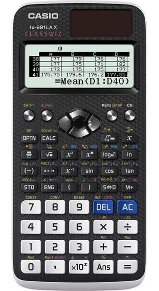 Calculadora Científica Casio Fx-991la X Classwiz - Com 552